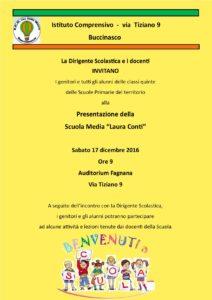 """Presentazione Scuola Secondaria """"L. Conti"""""""