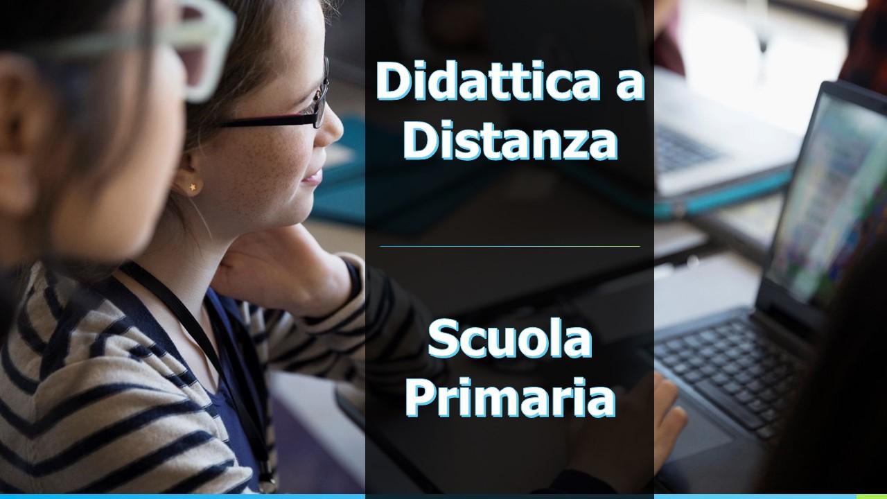 didattica a distanza scuola primaria